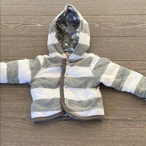 Burt's Bees *Reversible* infant sweatshirt